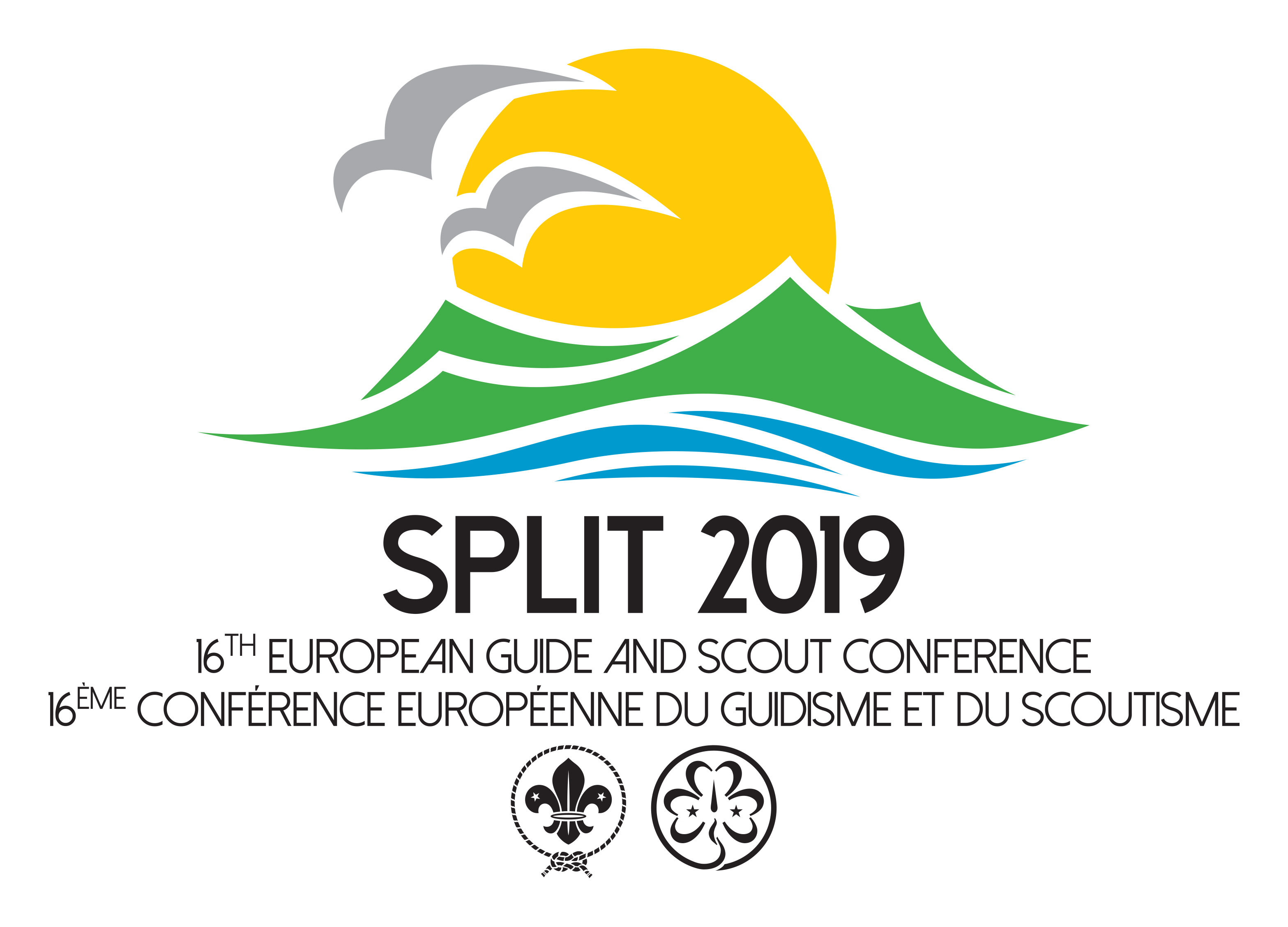 Logo 16th European Guide and Scout Conference